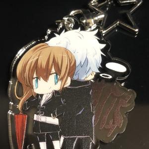 【銀魂】アクリルキーホルダー【初期設定銀沖】