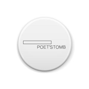 ロゴ缶バッジ - ポエッツトゥーム