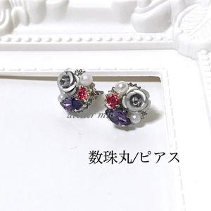 薔薇の彩り耳飾り【刀剣乱舞】