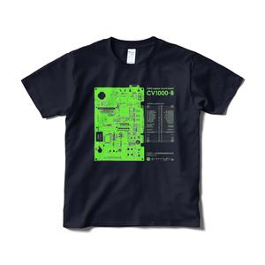 「CV1000-B」Tシャツ(ネイビー)