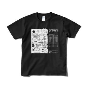 「CV1000-B」Tシャツ(ブラック)
