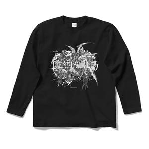 デススマイルズロングTシャツ「枯れた骸」