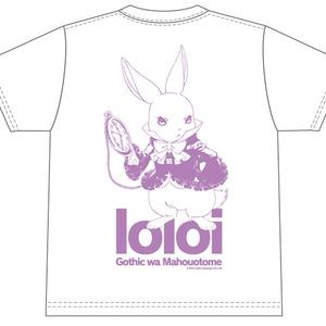 セリフTシャツ「ゴシックは魔法乙女」ロロイ