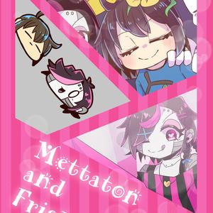 【Undertale】Mettaton and Frisk !!