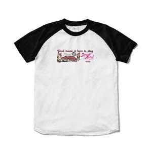 Live House Johnny Angel Tokyo T-shirt TipeC Black/White(ライブハウス ジョニーエンジェル東京Tシャツ タイプCブラック/ホワイト/黒白)