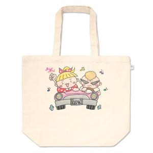 トートバッグ(JohnnyAngel公式オリジナルキャラクターJohnny+Allieドライブ編)レジ袋有料化に伴う新商品