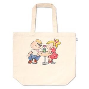 トートバッグ(JohnnyAngel公式オリジナルキャラクターJohnny+Allieデート編)レジ袋有料化に伴う新商品