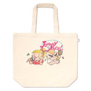 トートバッグ(JohnnyAngel公式オリジナルキャラクターJohnny+Allieライブ編)レジ袋有料化に伴う新商品