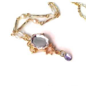 魔法の鏡のネックレス