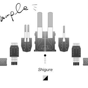 Shigure designP-2(時雨デザインパーカーその2)