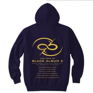 ※受付終了【限定受注生産】BLACK ALBUM 2 ライブツアーパーカー