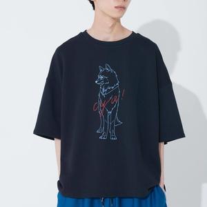 SLUMBER WOLF TEE(オオカミプリントTシャツ)
