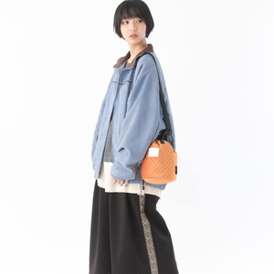 Quilting pouch bag(キルティングポーチバッグ)【11月下旬より順次発送】
