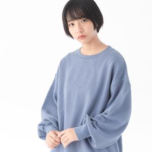 Bear factory Sweat(クマ刺繍スウェット)【11月下旬より順次発送】
