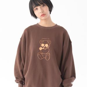 Boss Bear Sweat(クマプリントスウェット)【11月下旬より順次発送】