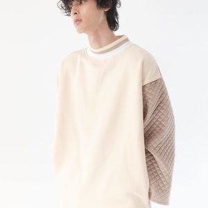 Variant Pullover(異素材切り替えプルオーバー )【11月下旬より順次発送】