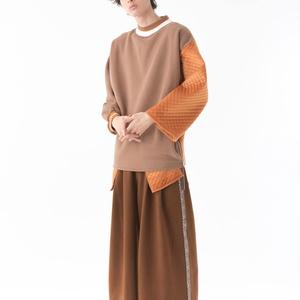 Variant Pullover(異素材切り替えプルオーバー )