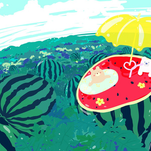 【創作】夏のおたのしみ