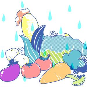 【創作】お野菜トート