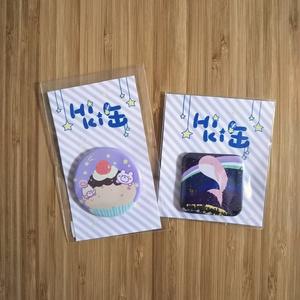 【創作】HIKI缶(大)