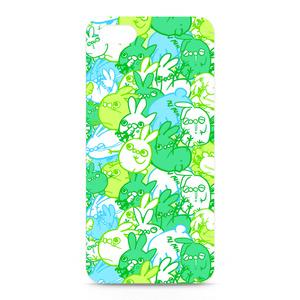 うさ虫 iPhoneケース(木を隠すなら森ver.)