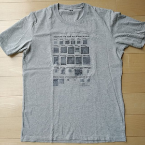 """Hisotory of Microprocessor"" Tシャツ"