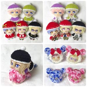 クリスマス衣装(ぬいぐるみ・おまんじゅう用)