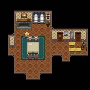 自作フリーゲーム『レディとメイドのスイートルーム』