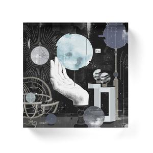 『僕の惑星』アクリルブロック(背面ホワイト) ※アカペラ音源付き
