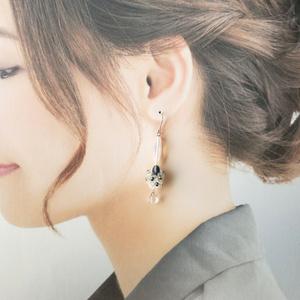 《新作》松井江の耳飾り
