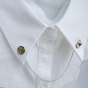 石切丸の襟ブローチ