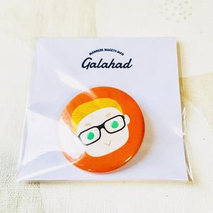 KM丸型缶バッジ/Galahad(E)