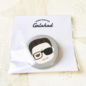 KM丸型缶バッジ/Galahad(H)