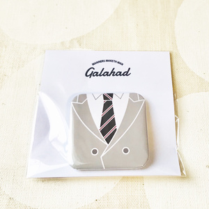 KM正方形型缶バッジ/Galahad(H)