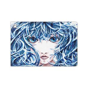 「決意の少女」パスケース