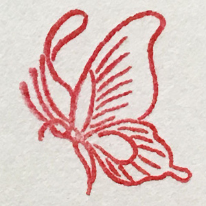 蝶の判子1