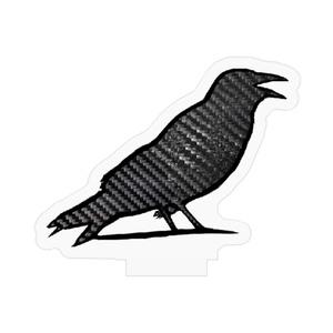 カーボン鳥のアクリルフィギュア