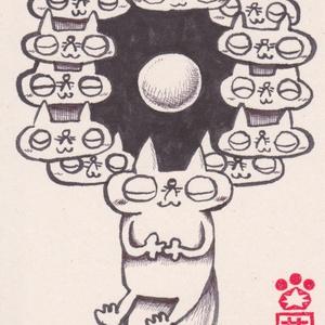 原画「瞑想」
