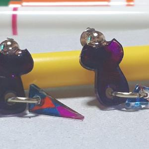 三角ト紫猫