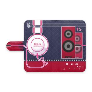 手帳型Androidケース(紺)