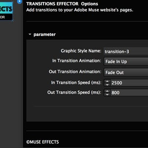 TRANSITION EFFECTOR