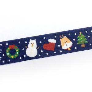 柴犬Xmasマスキングテープ【柴組】