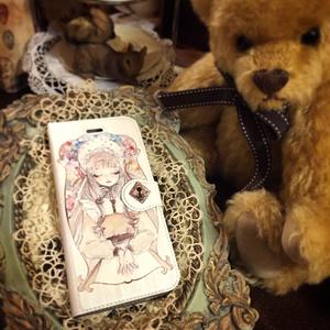 柩少女 手帳型スマホカバー