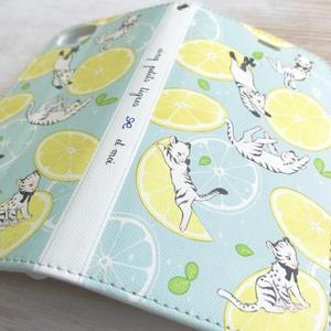 Lemon Squash 手帳型iPhoneケース