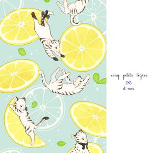 Lemon Squash ポストカード