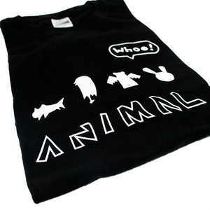 """whoo! animals"" Tシャツ"