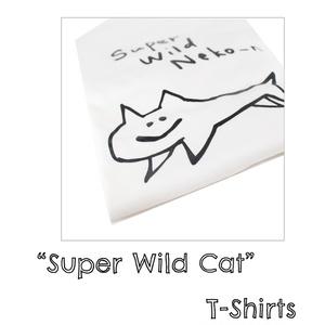 """""""Super Wild Cat"""" Tシャツ"""