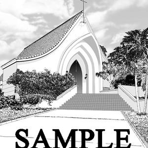 背景素材「小さな教会」半額セール!