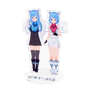 【AR対応】CRY-SIS[クライシス] アクリルフィギュア ナユとサユver.