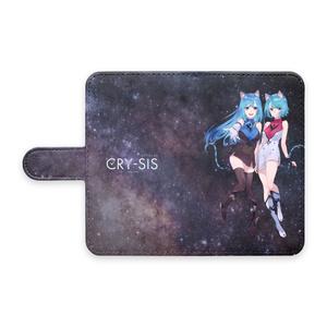 CRY-SIS[クライシス] 手帳型Androidケース